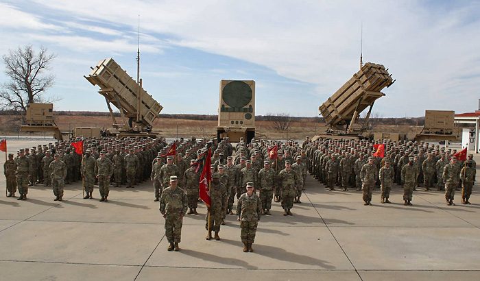 Patriot 3rd Battalion 2nd Air Defense Artillery Regiment