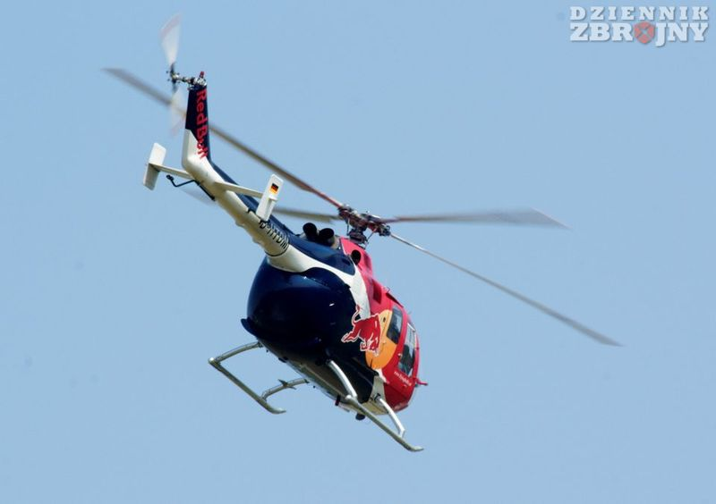 Bo-105 Red Bulla